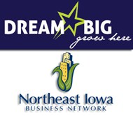 Dream Big Business Grant Northeast Iowa Logo